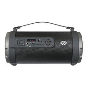 Портативная колонка Digma S-35 18Вт, FM, AUX, microSD, USB, Bluetooth4.2, 1800мАч, черный