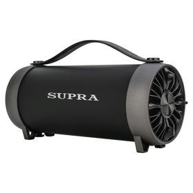 Портативная колонка Supra BTS-490 11Вт, FM, AUX, USB, Bluetooth, 1500мАч, чёрный