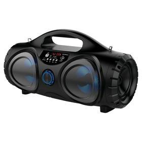 Портативная колонка Supra BTS-880 16Вт, FM, AUX, microSD, USB, Bluetooth, 1500мАч, чёрный