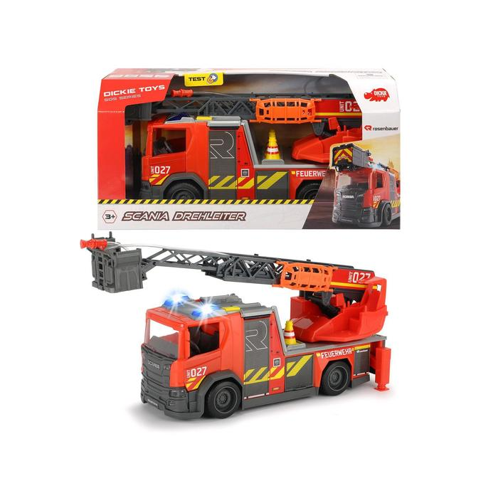 Пожарная машина Scania, 35 см, световые и звуковые эффекты