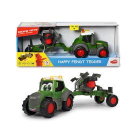 Трактор Happy Fendt с ворошилкой для сена 30 см, свет/звук
