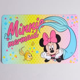 Коврик для лепки 'Minnie mermaid' Минни Маус, размер 19*29,7 см Ош