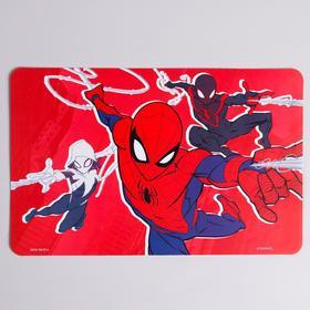Коврик для лепки Человек-Паук, красный, размер 19*29,7 см