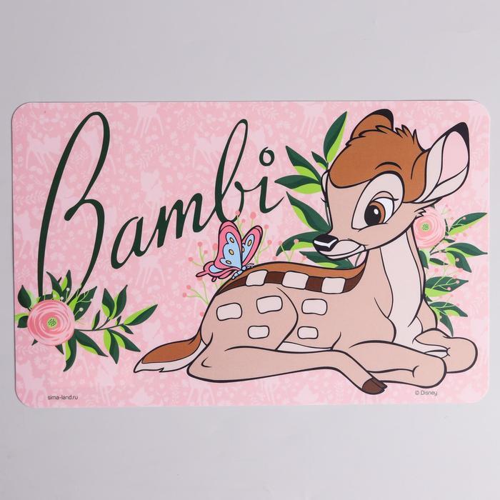 """Коврик для лепки """"Bambi"""" Дисней, размер 19*29,7 см"""