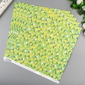 """Бумага для скрапбукинга Shimelle """"Make A Wish"""" 30.5х30.5 см, 190 гр/м2"""