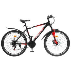 """Велосипед 26"""" Progress модель ONNE RUS, цвет черный, размер 18"""""""