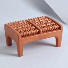 Массажёр для ног, на подставке, цвет МИКС