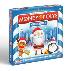 Экономическая игра «MONEY POLYS. Зимний город», 60 карт