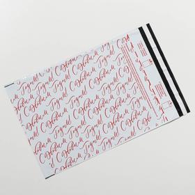 Пакет почтовый пластиковый «Новогодний сюрприз», 25 × 35,3 см