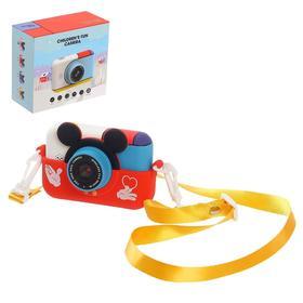 Детский фотоаппарат «Микки», с режимом съёмки видео, руссифицированный, МИКС