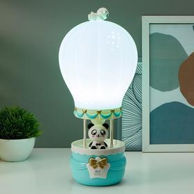 Лампа настольная 16085/1 E14 5Вт голубой 14,5х14,5х36 см