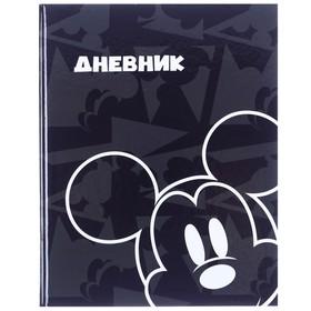 """Дневник для 1-11 класса в твёрдой обложке, 40 л., """"Микки"""", Микки Маус"""