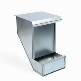 Кормушка бункерная для кроликов, 2,5 кг, металл, Greengo