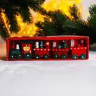 """Christmas decor """"Fairy train"""" 20x5x3 cm"""