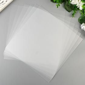 """Набор пластиковых листов для гравировки WRMK """"Bevel Quill"""" 20.3x20.3 см 6 шт"""