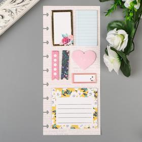 "Листы для заметок Crate Paper ""Heart"" 140 шт"