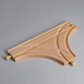 Деталь для ж/д «Перекрёсток» 21.3×12.3×1.2 см