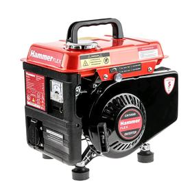 Генератор Hammer GN1000i, 2Т, бензиновый, инверторный, 1 КВт, 220 В, 3.5 A, 2 л, до 3.5 ч
