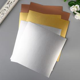 A set of sheets for embossing WRMK