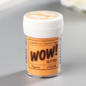 "Глиттер American Crafts ""Extra Fine Tangerine"" 35 гр"