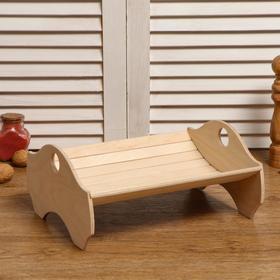 """Хлебная корзинка деревянная """"Колосок"""", 29×24×13.5 см"""
