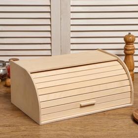 """Хлебница деревянная """"Буханка"""", 38×24.5×16.5 см"""