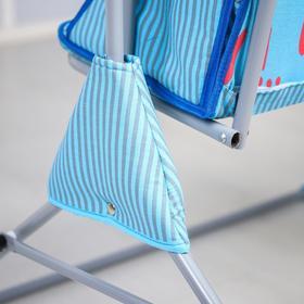 Качели детские напольные «Малыш», для двоих, цвет МИКС