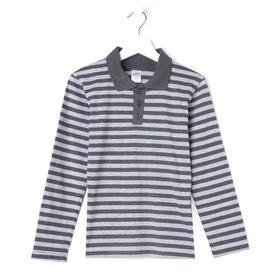 Рубашка для мальчика, цвет серый, рост 116-122 (34) см