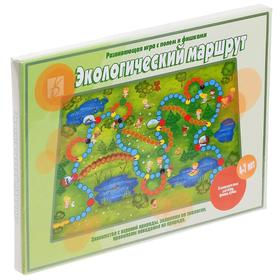Игра настольная «Экологический маршрут»