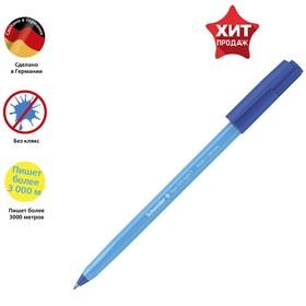 """Ручка шариковая Schneider """"Tops 505 F"""" узел 0,8мм, голубой корпус, синяя 150523"""