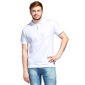 Рубашка поло унисекс, размер L, цвет белый Ош