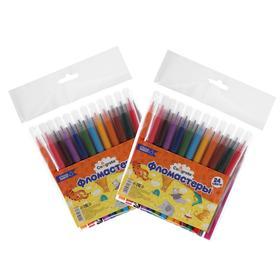 A set of felt-tip pens in suspension 24tsv.