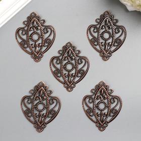 Декоративный элемент, цвет бронза