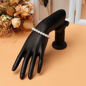 """Подставка для украшений """"Рука"""", 10*5*23,5*13 см, цвет чёрный"""