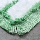 Насадка для плоской швабры, 40 см, микрофибра, цвет МИКС - фото 4647798
