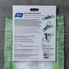 Насадка для плоской швабры, 40 см, микрофибра, цвет МИКС - фото 4647800