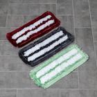 Насадка для плоской швабры, 40 см, микрофибра, цвет МИКС - фото 4647801