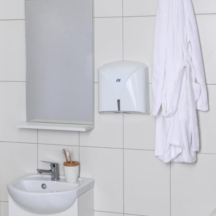 Диспенсер бумажных полотенец в листах Titiz, цвет белый