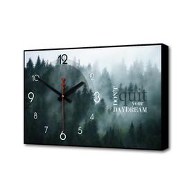 """Часы настенные """"Не бросай свою мечту"""", 1 АА, плавный ход, 57х35х4 см"""