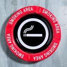 """Ashtray """"Smoking area"""", 13 cm"""