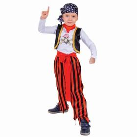 Карнавальный костюм «Пират в бандане», р. 28, рост 104 см