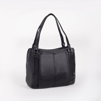 Women's t-85 bag, zippered otd, n / a pocket, black