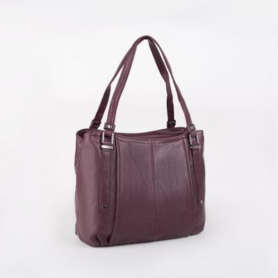 Women's bag t-85, otd with zipper, n / a pocket, Burgundy