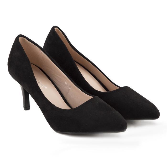 Туфли женские Meitesi, цвет чёрный, размер 40