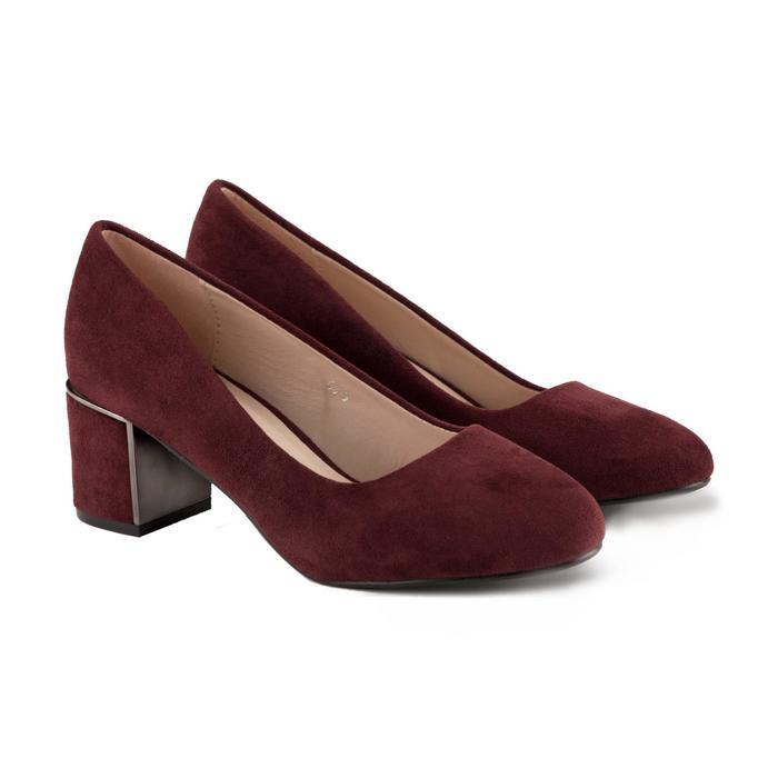 Туфли женские Meitesi, цвет бордовый, размер 39