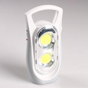 Фонарь-светильник COB, 4 Вт, 5 В, 1200 mAh, 3 ч работы, USB, 8.5х4.7х18.5 см