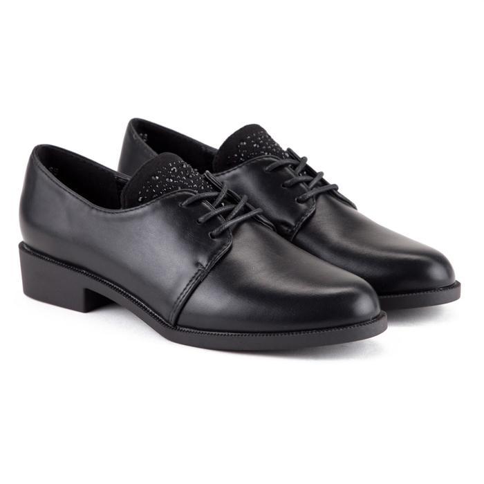Туфли женские Luomasi, цвет чёрный, размер 39