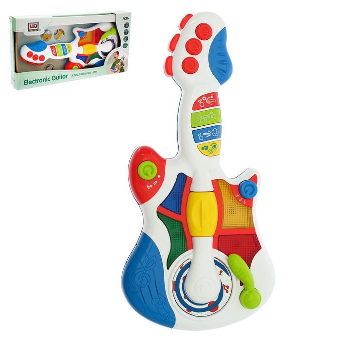 Музыкальная игрушка «Гитара», световые и звуковые эффекты