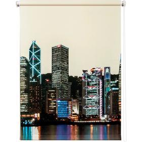 Рулонная штора «Сити день», 100 х 175 см