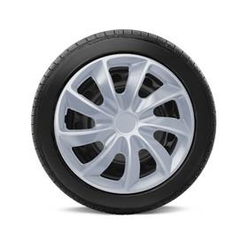 "Колпаки на колёса Autoprofi, металлик, 14"", 350 мм, набор 4 шт"